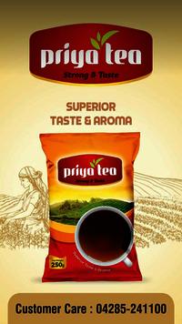 Tea dust