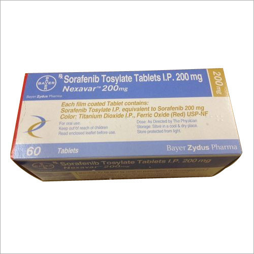 200 MG Sorafenib Tosylate Tablets IP