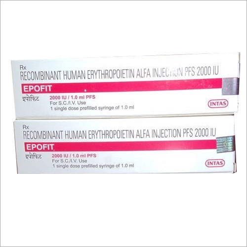 Recombinant Human Erytthropoietin Alfa Injection
