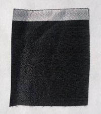 Plain Black Lamination Fabric