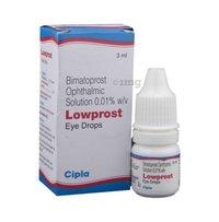 Bimatoprost & Timolol Eye Drops
