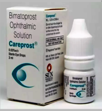 Bimatoprost opthalmic solution 0.01% w/v, 0.03% w/v