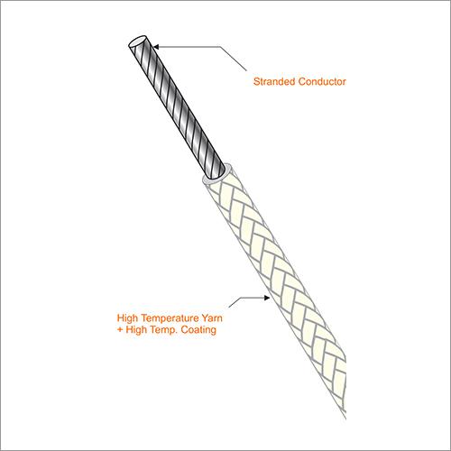 High Temperature Glass Fiber Power Cable