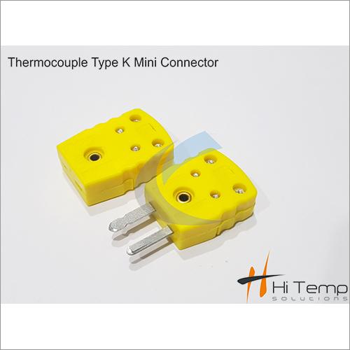 Thermocouple Type K Mini Connector