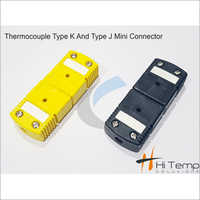 Thermocouple Type K and Type J Mini Connector