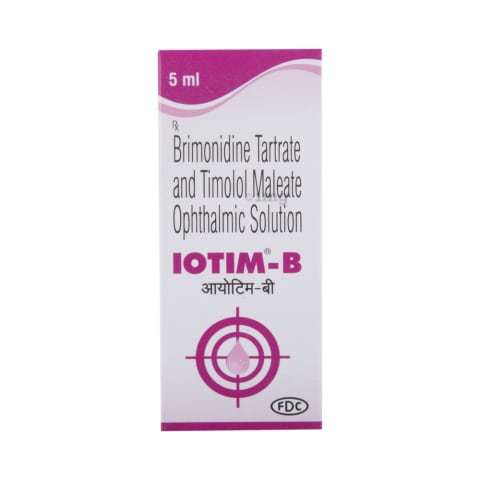 Brimonidine Tartrate And Timolol Maleate Eye Drop.