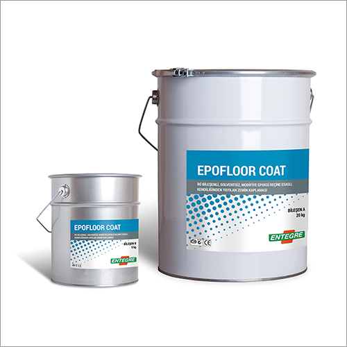 Double Component, Solvent Free Modified Epoxy Resin Based Self Spreading Floor Coating