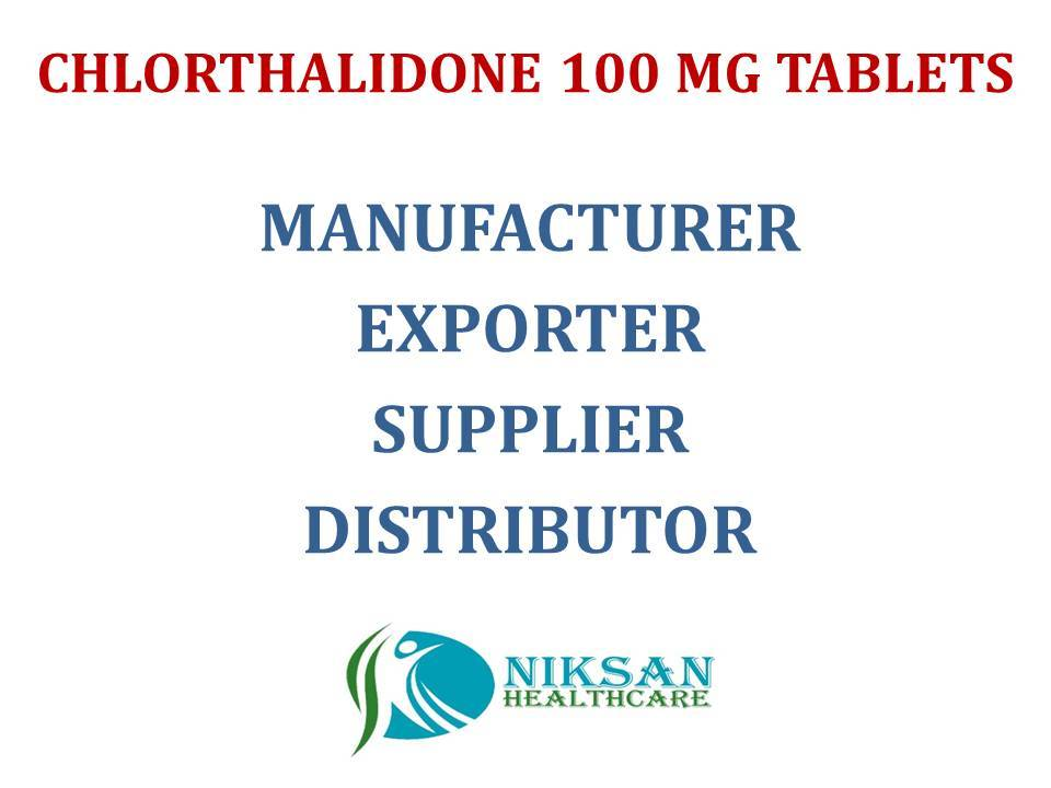 CHLORTHALIDONE 100 MG TABLETS