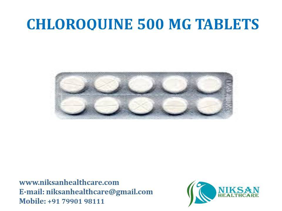 CHLOROQUINE 500 MG TABLETS