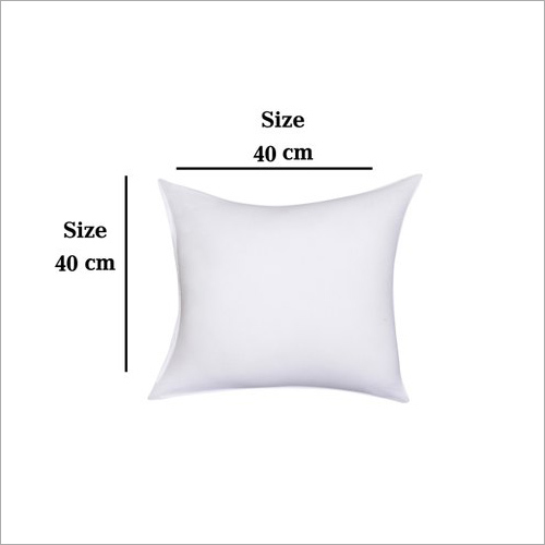 White Cotton Sofa Cushion