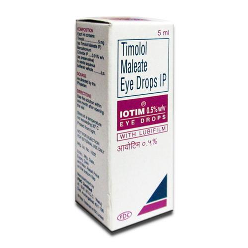 Timolol Maleate Eye Drop 0.5% W/v.