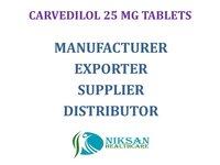 CARVEDILOL 25 MG TABLETS