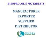 BISOPROLOL 5 MG TABLETS