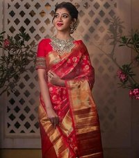 SOFT LICHI SILK SAREE