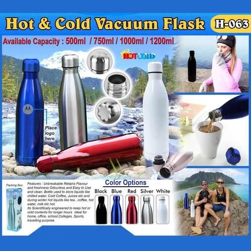 Steel Hot And Cold Vacuum Flask