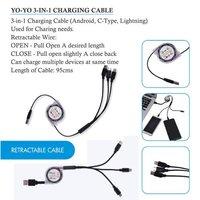 Yo Yo Data Cable with C Type