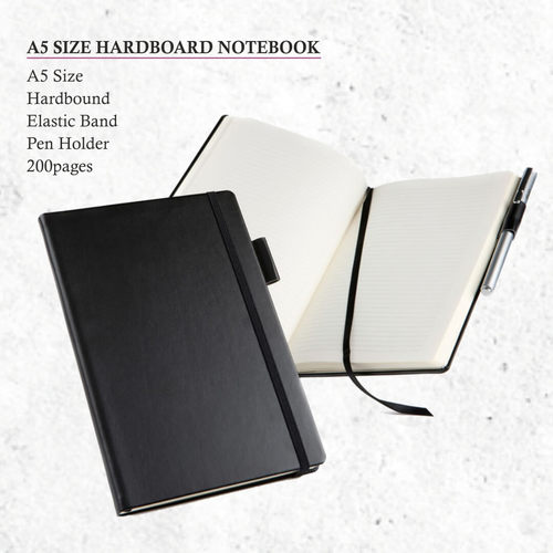 A5 Size Hardboard Notebook