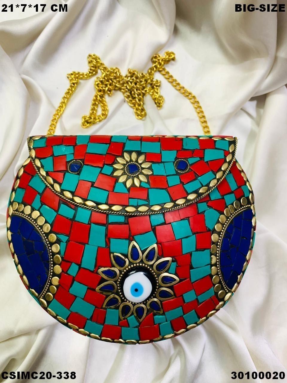 Exclusive Designer Mosaic Clutches
