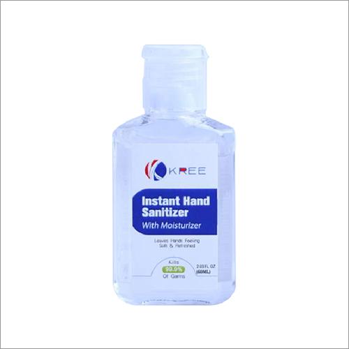 60ml Instant Hand Sanitizer with Moisturizer