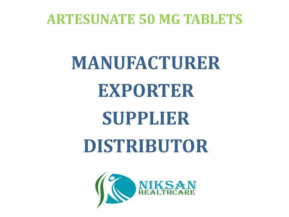 ARTESUNATE 50 MG TABLETS