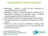 ARTESUNATE 200 MG TABLETS