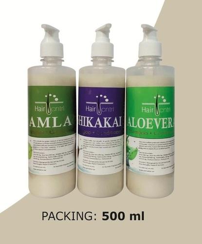 LGH Hair Shampoo Aloevera/ Amla/ Shikakai With Dispenser Pump