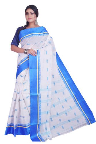 Handloom Premium Quality Pure Bengal Cotton Tant Sarees