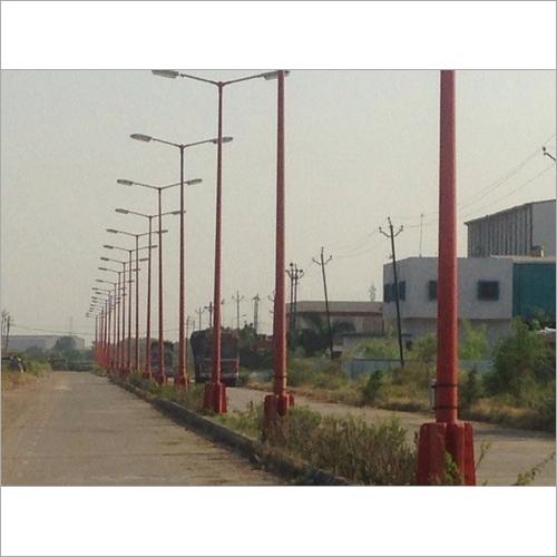 Single-Arm FRP Lighting Poles