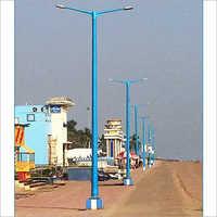 Dual Arm FRP Light Pole