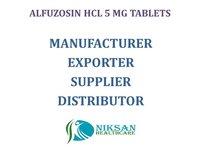 ALFUZOSIN HCL 5 MG TABLETS