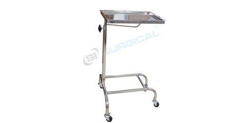 Ot Mayos Instrument Trolley With Ss Tray (Sis 2037)