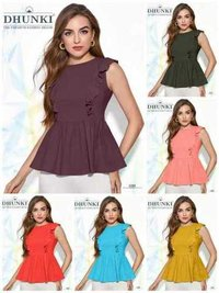 Dhunki Designer Ladies Tops