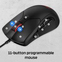 HyperX Pulsefire Raid RGB Gaming Mouse (HXMC005B) 1