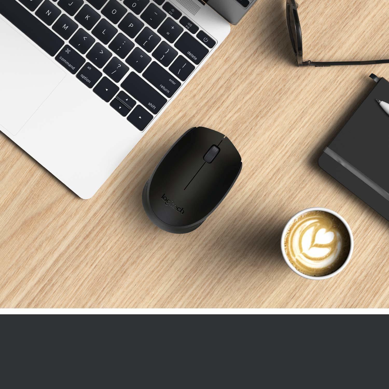 Logitech Wireless Mouse-2.4 GHz with USB Nano Receiver