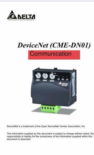 Delta Communication Module Devicenet