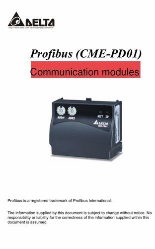 Communication Modules Profibus