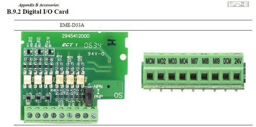 Delta Input Output Extension Card