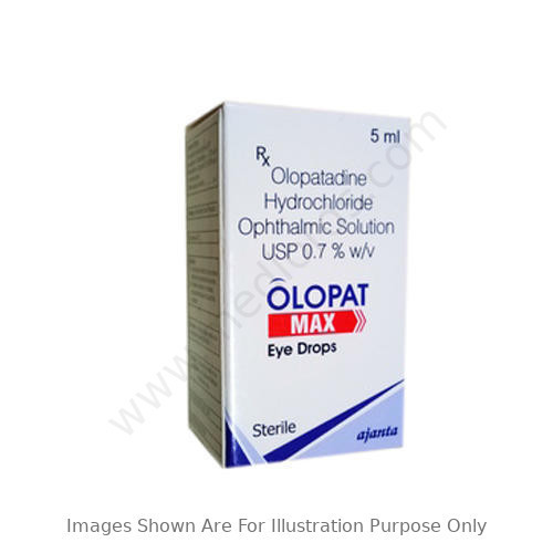 Olopatadine HCL Ophthalmic 0.1%w/v Eye Drop.