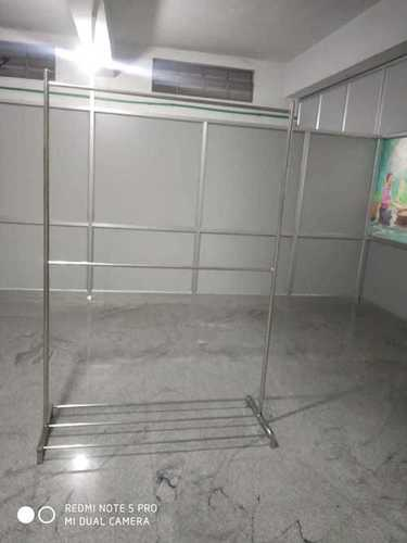 Cloth Show Room Stainless Steel Portable Hangers In Ramanathapuram