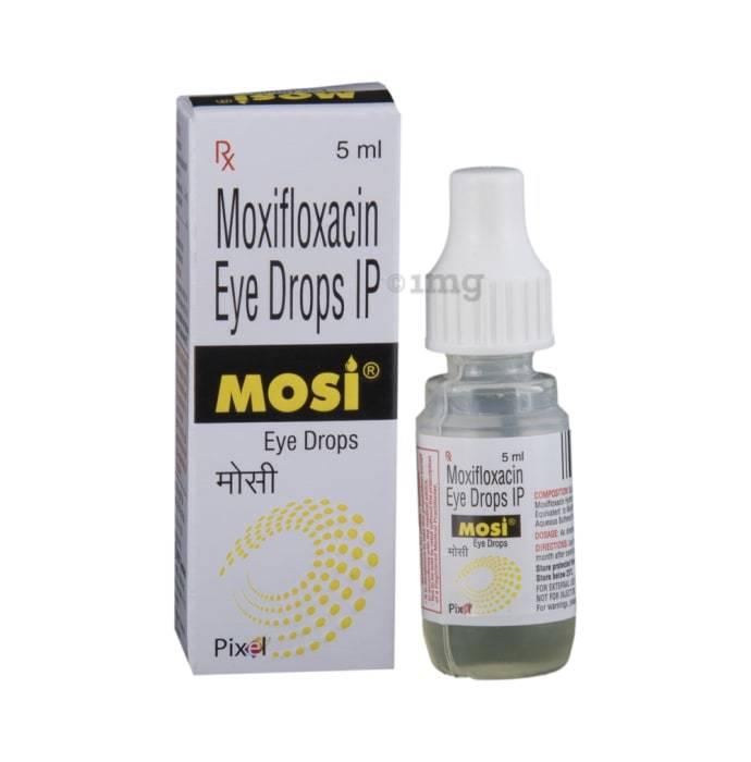 Moxifloxacin 0.5%w/v Eye Drop