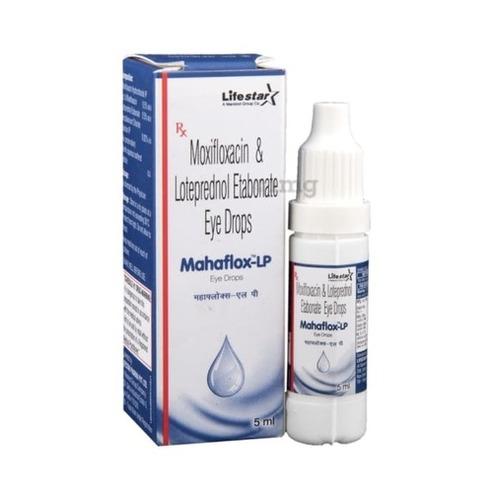 Moxifloxacin 0.5% & Loteprednol Etabonate 0.5% eye-drop.