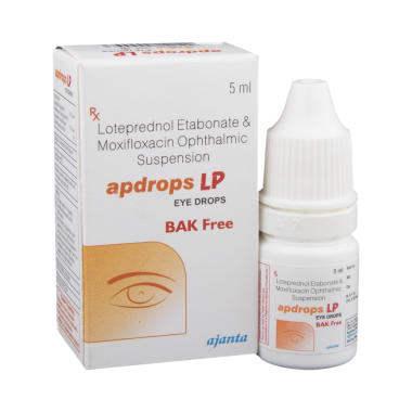 Lotepredrol & Moxifloxacin Eye Drop.