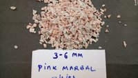 dark rosa Pink color chippinga and gravels for landscape and extirior wall texture decoration