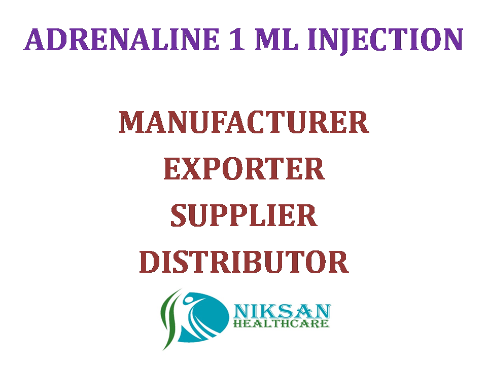 ADRENALINE 1 ML INJECTION