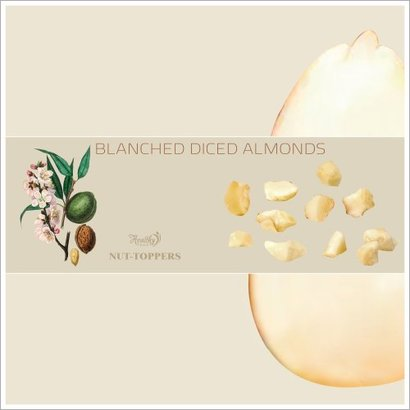 Blanched Diced Almonds