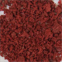 LDPE Tyre Patti Red Agglo Flakes