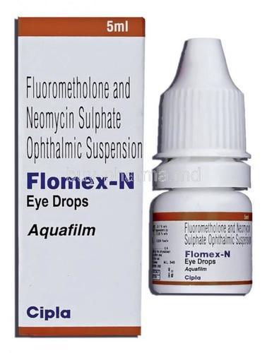 Flurometholone & Neomycin eye drop. 5ml