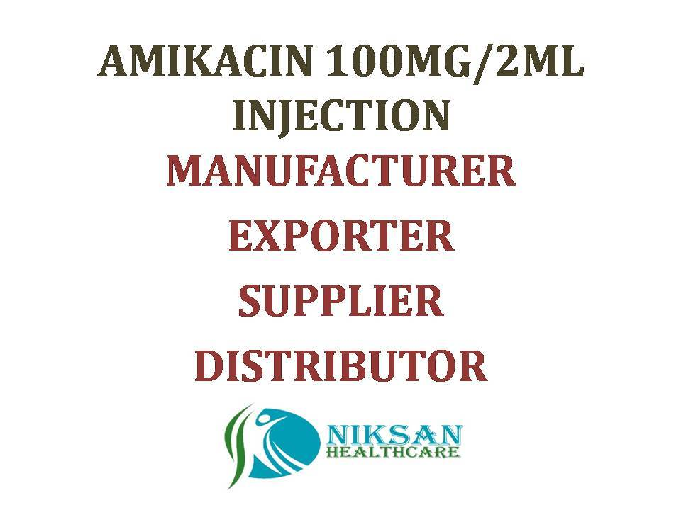 AMIKACIN 100MG/2ML INJECTION