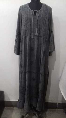 100% Rayon Dress All Season Comfortable Full