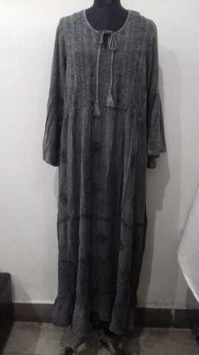 100% Rayon Ladies Dress